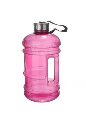Бутылка для воды, металлическая крышка 2,2 л (Fitrule)