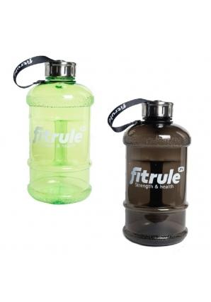 Бутылка для воды, металлическая крышка 1,3 л (Fitrule)