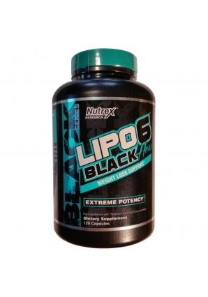 Lipo-6 Black Hers INTL 120 капс. (Nutrex)