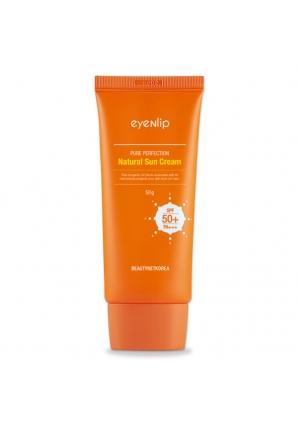 Солнцезащитный крем для лица Pure Perfection Natural Sun Cream UV SPF 50+/PA+++ 50 гр (Eyenlip)