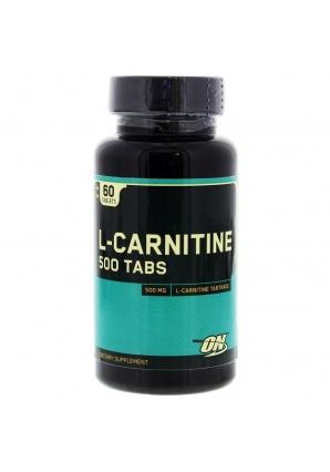 L-carnitine 500 60 табл. (Optimum Nutrition)