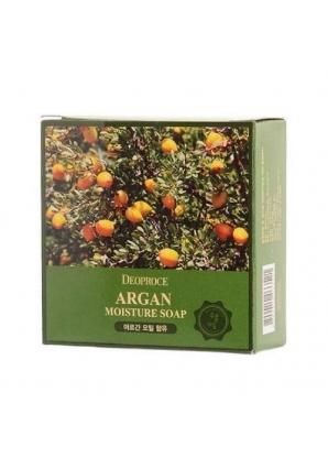 Мыло с аргановым маслом Argan Moisture Soap 100 гр (Deoproce)