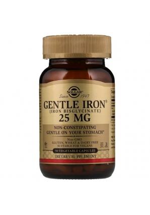 Gentle Iron 25 мг 90 раст капс (Solgar)