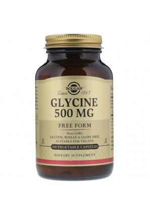 Glycine 500 мг 100 раст капс (Solgar)