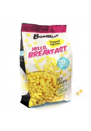 Готовый завтрак (шарики рисовые с сывороточным белком) 250 гр (BomBBar)