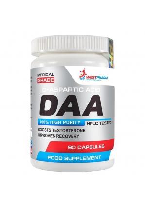 DAA (D-aspartic acid) 500 мг 90 капс (WestPharm)