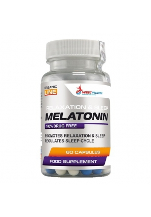 Melatonin 5 мг 60 капс (WestPharm)