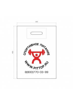 Фирменный пакет маленький (PitTop)