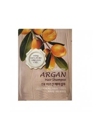 Шампунь для волос с аргановым маслом пробник Confume Argan Hair Shampoo Pouch (Welcos)