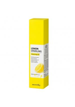Гидрофильное масло с экстрактом лимона Lemon Sparkling Cleansing Oil 150 мл (Secret Key)