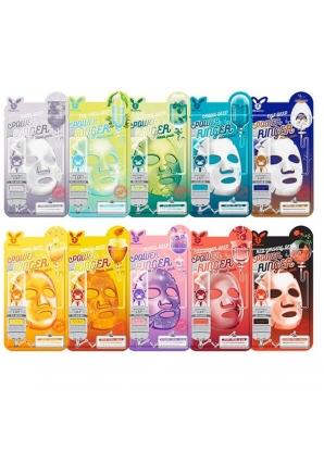 Тканевая маска для лица Deep Power Ringer Mask Pack 23 мл (Elizavecca)