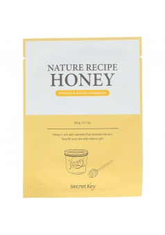 Тканевая маска медовая Nature Recipe Mask Pack Honey 20 гр (Secret Key)