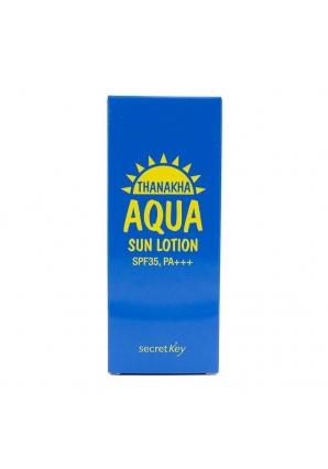 Солнцезащитный лосьон Thanakha Aqua Sun Lotion SPF35, PA+++ 100 гр (Secret Key)