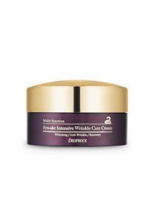 Увлажняющий и питающий крем против морщин со змеиным ядом Syn-Ake Intensive Wrinkle Care Cream 100 гр (Deoproce)