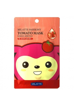 Тканевая маска томатная Fashiony Tomato Mask Sheet 21 гр (Milatte)