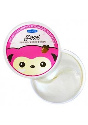 Гидрогелевые патчи для глаз с жемчугом Fashiony Pearl Hydrogel Eye Patch 60 шт (Milatte)