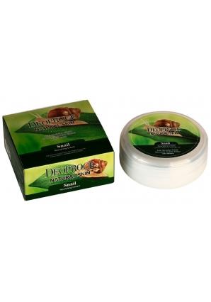 Питательно-омолаживающий крем с экстрактом слизи улитки Natural skin snail nourishing cream 100 гр (Deoproce)