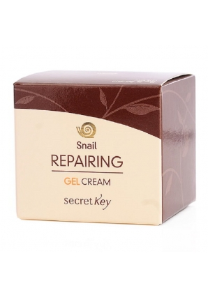Крем-гель для лица с муцином улитки Snail Repairing Gel Cream 50 мл (Secret Key)