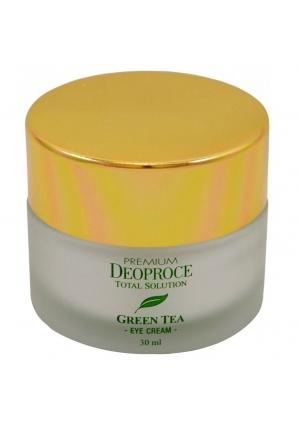 Крем для век увлажняющий с экстрактом зеленого чая Green Tea Total Solution Eye Cream 30 мл (Deoproce)
