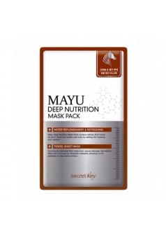 Питательная маска для лица Mayu Deep Nutrition Mask Pack 20 гр (Secret Key)