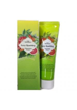 Пенка для умывания Pure Juicy Sparkling Cleansing Foam 70 гр (Deoproce)