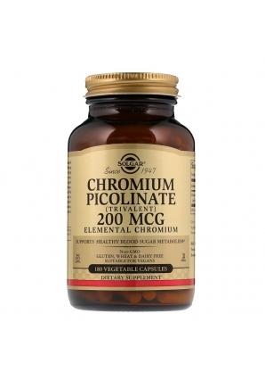 Chromium Picolinate 200 мкг. 180 раст. капс. (Solgar)