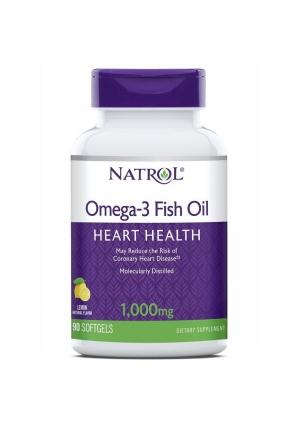 Omega-3 Fish Oil 1000 мг 90 капс (Natrol)