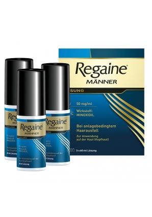 Лосьон от выпадения волос для мужчин Regaine 5% 60 мл 3 шт (Regaine)