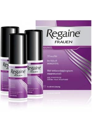 Лосьон от выпадения волос для женщин Regaine 2% 60 мл 3 шт (Regaine)