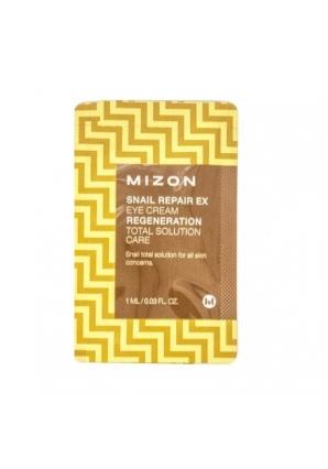 Крем для век с экстрактом улитки Snail Repair Eye Cream 1 мл (Mizon)