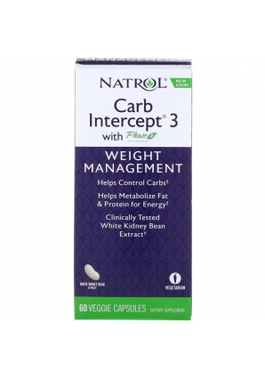 Carb Intercept 3 60 капс (Natrol)