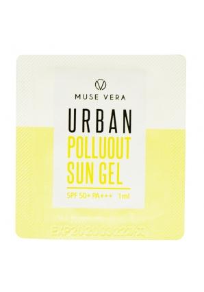 Солнцезащитный гель для лица Musevera Urban Polluout Sun Gel Spf50+ Pa+++ 1 мл (Deoproce)