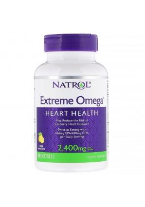 Extreme Omega 2400 мг 60 капс (Natrol)