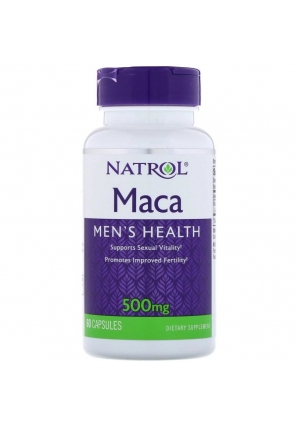 Maca 500 мг 60 капс (Natrol)