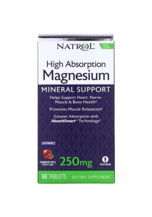 Magnesium High Absorption 250 мг 60 табл (Natrol)