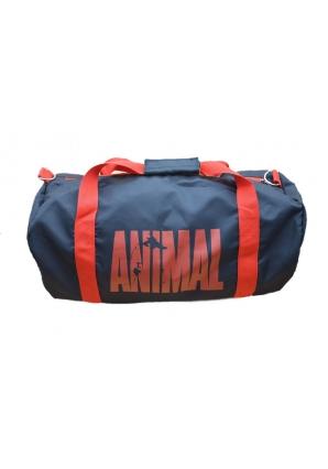 Спортивная сумка Animal, красная надпись (Universal Nutrition)