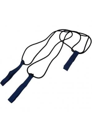 Эспандер лыжника (боксёра), средней упругости, с лямками для рук (Sportsteel)