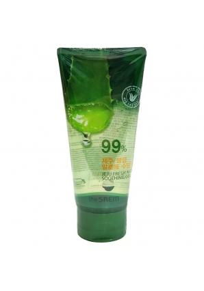 Гель с алоэ универсальный увлажняющий Jeju Fresh Aloe Soothing Gel 99% 120 мл (The Saem)
