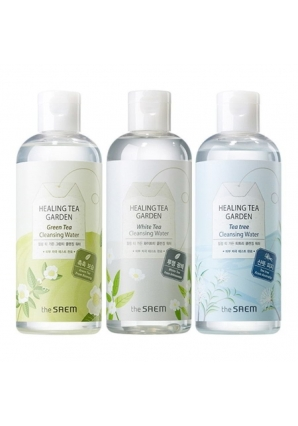 Очищающая вода Healing Tea Garden Cleansing Water 300 мл (The Saem)