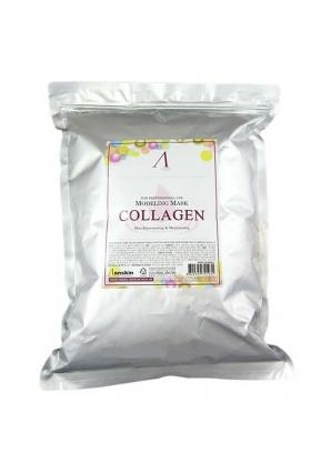 Маска альгинатная с коллагеном укрепляющая Collagen Modeling Mask 1000 гр (Anskin)