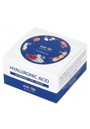 Гидрогелевые патчи для глаз с гиалуроновой кислотой Hyaluronic Acid Hydrogel Eye Patch 60 шт (Eyenlip)