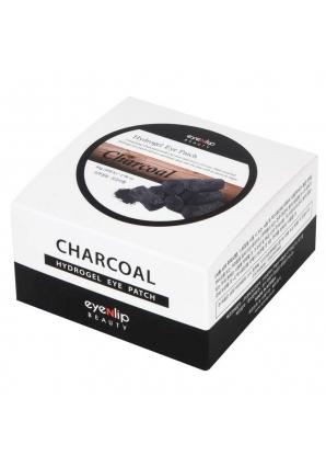 Гидрогелевые патчи для глаз с древесным углем Charcoal Acid Hydrogel Eye Patch 60 шт (Eyenlip)