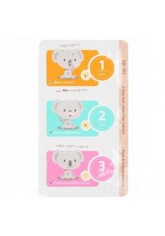 Набор от черных точек 3-Step Koala Nose Clear Solution 7 гр (Mijin)