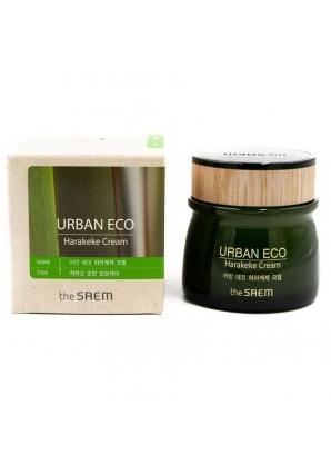 Питательный крем с экстрактом новозеландского льна Urban Eco Harakeke Cream 60 мл (The Saem)