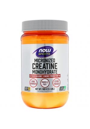 Micronized Creatine Monohydrate 500 гр (NОW)