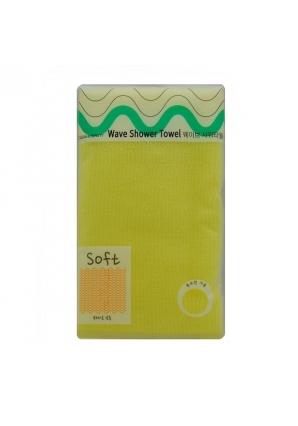 Мочалка для душа Wave Shower Towel 1 шт 28 х 95 мм (Sungbo Cleamy)