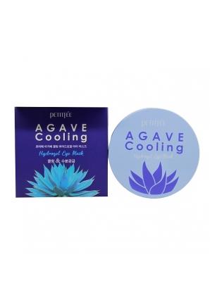 Охлаждающие гидрогелевые патчи для глаз с экстрактом агавы Petitfee Agave Cooling Hydrogel Eye Patch 84 гр (Petitfee)