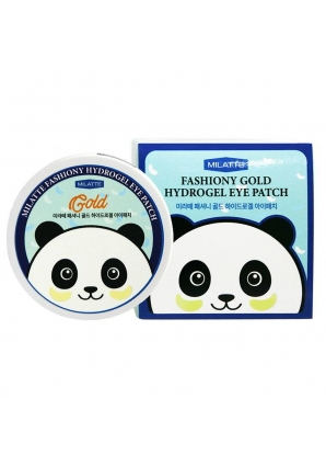 Гидрогелевые патчи для глаз с золотом Fashiony Gold Hydrogel Eye Patch 60 шт (Milatte)