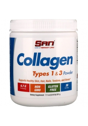 Collagen Types 1 & 3 Powder 201 гр (SAN)