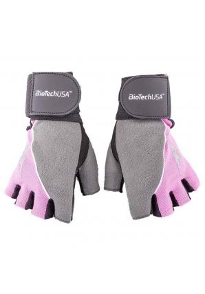 Перчатки FH Lady2 черно-розовые (BioTechUSA)